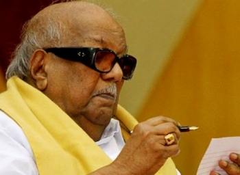 General Civil Law equivalent of trying to put hand on hornet's shell, says Karunanidhi