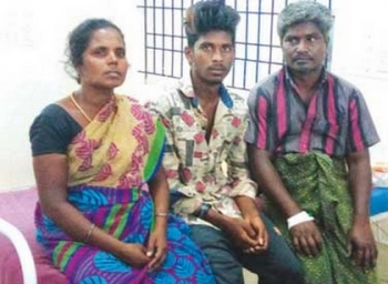 We will commit suicide if the policemen are not dismissed- Chengam Auto driver Raja