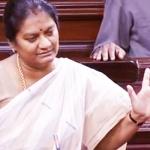 'என் தலைவர் என்னை அறைந்தார்!' - மக்களவையில் அழுத சசிகலா புஷ்பா