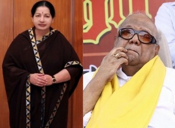 DMK Chief Karunanidhi slams Jayalalithaa over liquor ban
