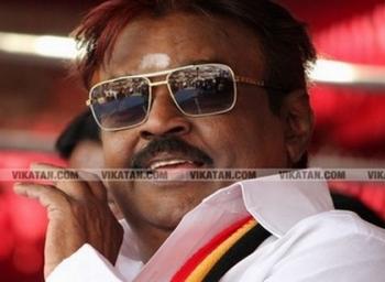 villupuram court warned Vijayakanth