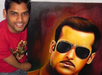 Dhaval an artist hero