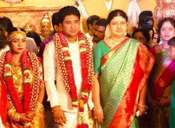 CM did not participate in vivek marriage function