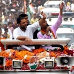 'யானை பணத்தை தின்றுவிட்டது... சைக்கிள் பஞ்சராகி விட்டது!' - ராகுல் காந்தி