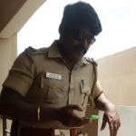 சினிமா எல்லாம் சும்மா...! 4 கோடி ரூபாயைக் கொள்ளையடித்த நிஜ போலீஸ்