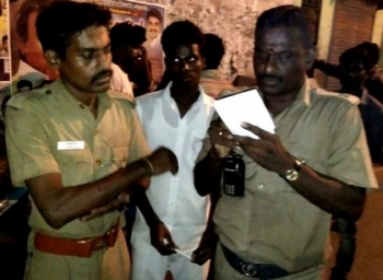 A Car hits Police officer and Girl in chennai