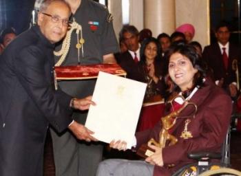 History of Paralympic Silver medallion Deepa Malik