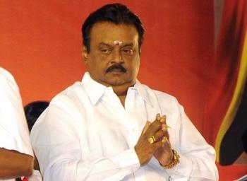 DMDK Chief Vijayakanth Back in Political Action