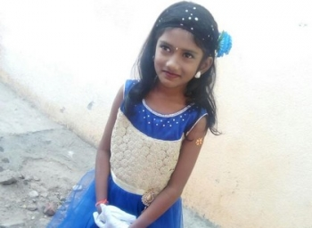 8 year old Nikitha top ranker in AIMS Talent Exam