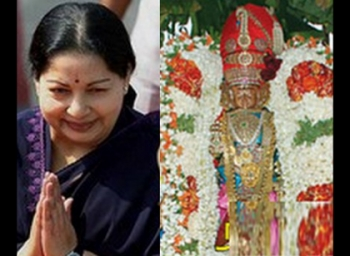 Jayalalithaa prayed for MGR's health in this temple