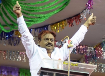 Vijayakanth in search of candidates for local body election