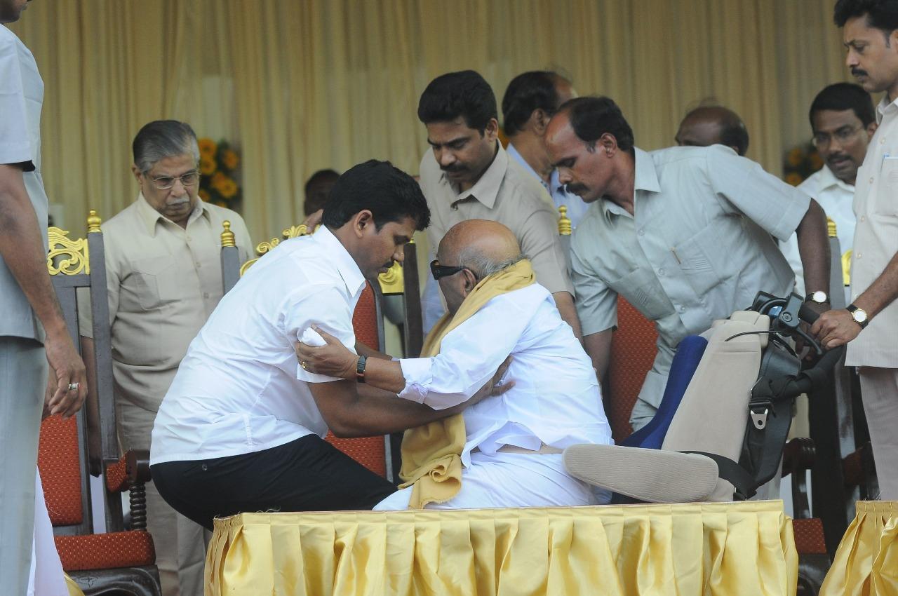 Nithya - Karunanidhi's Assistant