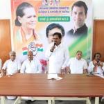 61 மாவட்ட காங். தலைவர்களுடன் திருநாவுக்கரசர் ஆலோசனை