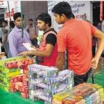 சீன பட்டாசுகள் புறக்கணிப்பு : டெல்லி விற்பனையாளர்களுக்கு பேரிழப்பு