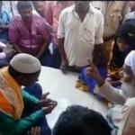 சிவன் கோயிலில் திருமணம் செய்த இஸ்லாமிய காதல் ஜோடி
