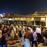 கோவை சிங்காநல்லூர் பேருந்து நிலையத்தில் மக்கள் அவதி