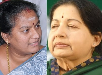 Sasikala pushpa writes letter to modi for monitoring TN situation