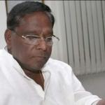 வேட்புமனு தாக்கல் செய்தார் நாராயணசாமி