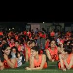 சாக்ஷி மலிக் மற்றும் ஆயிரத்துக்கும் மேற்பட்ட பெண்கள் சிறப்பு உடற்பயிற்சி செய்து கின்னஸ் சாதனை!