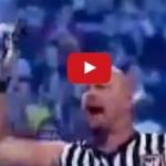 டொனால்டு டிரம்ப்பை அடித்து உதைக்கும் WWE வீரர்! (வீடியோ)