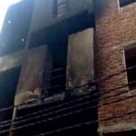 காசியாபாத் கார்மண்ட்ஸ் தொழிற்சாலை தீ விபத்து : 13 பேர் பலி