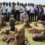 கி.பி 10-ம் நூற்றாண்டு கற்சிற்பங்கள் கண்டெடுப்பு!