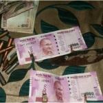 தீவிரவாதிகளிடம் ரூ.2,000 ரூபாய் நோட்டுகள்
