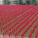 சீனாவில் 50,085 பேர் நடனமாடி உலக சாதனை