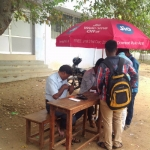 அரசுக் கல்லூரியில் விற்பனைக்கு வந்த ஜியோ