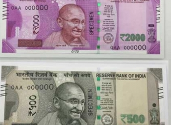 New currencies are made in india for the first time #MakeInIndia