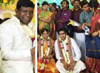 Actor vadivelu daughter's marriage