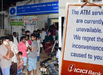 ATMs still not working - Pain for public to remain for next few days