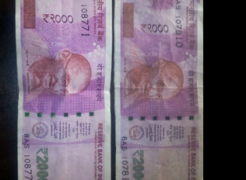Drunken cheats tasmac employee with 2000 rupees colour xerox