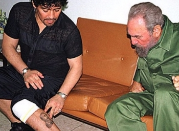 About the friendship between Fidel Castro and Maradona