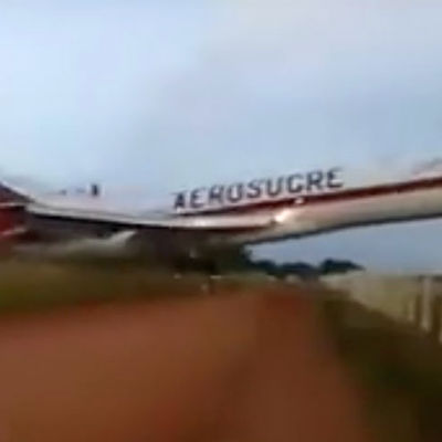 Colombia - Aerosucre plane crash