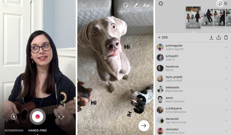 Instagram Hands-free Vidio