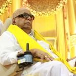 தி.மு.க தலைவர் கருணாநிதி மருத்துவமனையில் அனுமதி