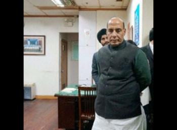 TN Governor Vidyasagar Rao speaks to Home Minister Rajnath singh