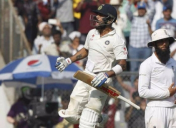 India in strong position against England on third day