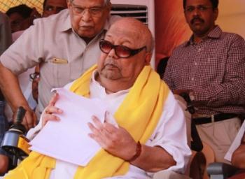 karunanidhi health report Kauvery Updates