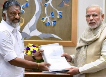 'My Best Wishes ' PM Modi assures Support to CM OPS