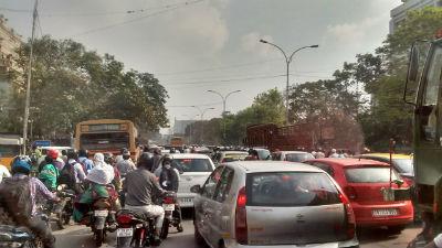 dmk-general-body-meet-traffic-chennai