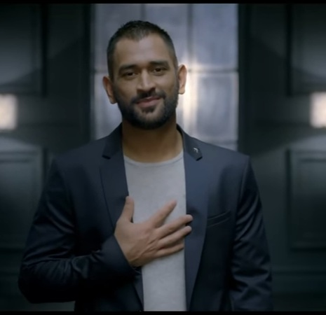 Dhoni promoting Jharkhand