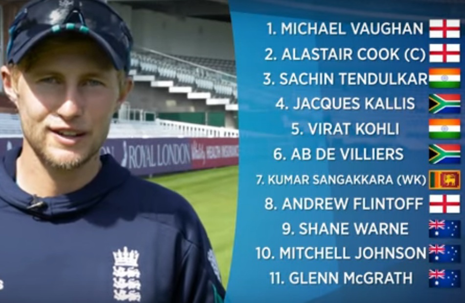 Joe Root all time 11