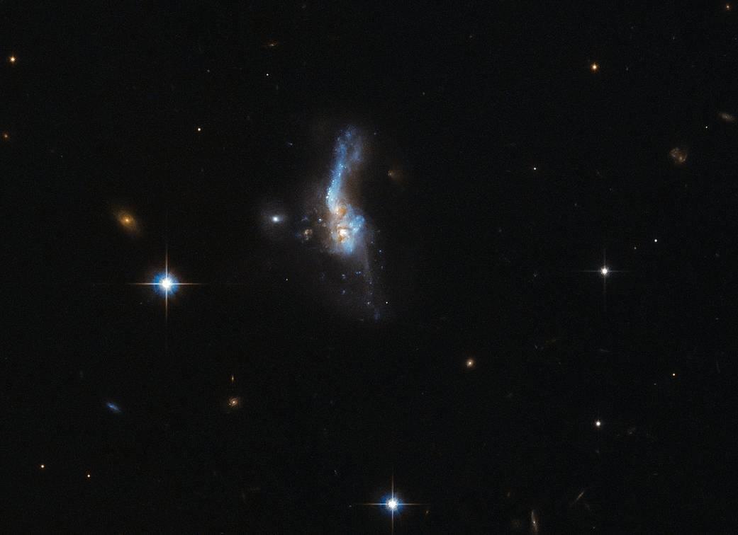 Galaxy collision