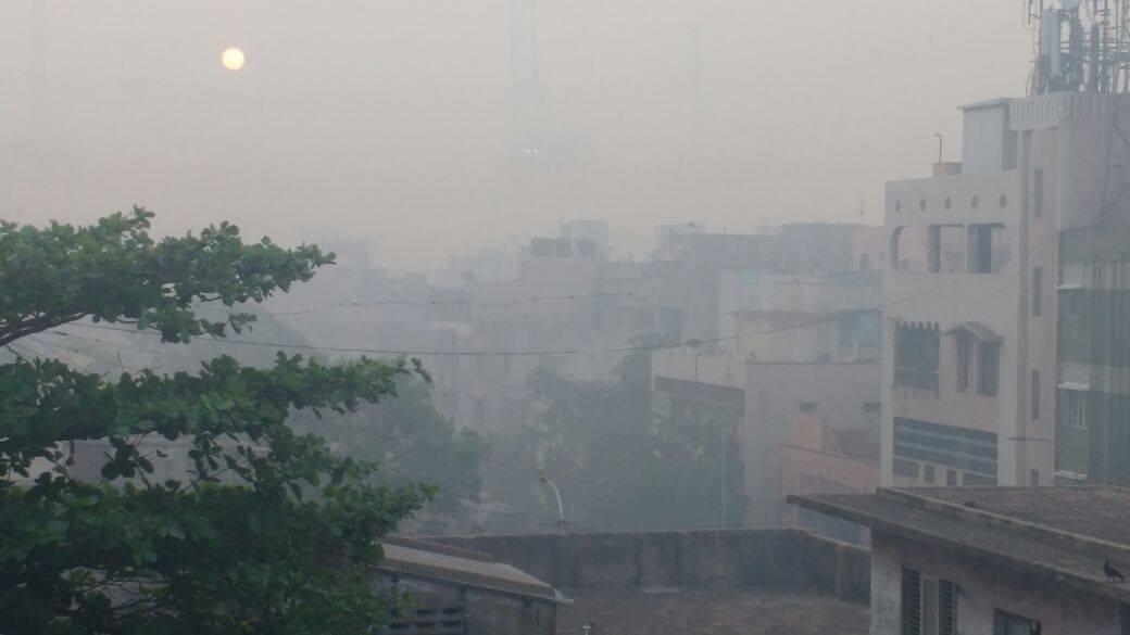 Pollution down 7 percent in Chennai