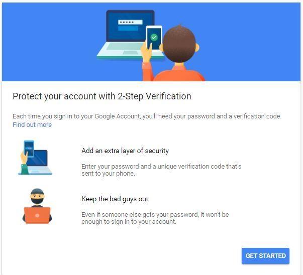 ஜி மெயில் 2 step verification