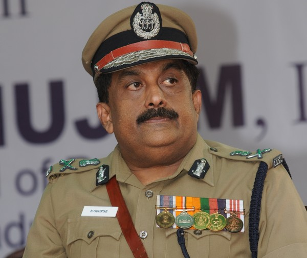 Chennai Police Commissioner Geroge