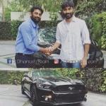வாவ்... தனுஷின் புதிய முரட்டுக் காளை ஃபோர்டு   'மஸ்டாங்!' #Mustang