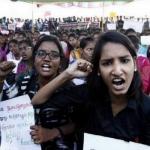 #Jallikattu - புதுச்சேரியில் வகுப்புகளை புறக்கணித்து மாணவர்கள் போராட்டம்...!